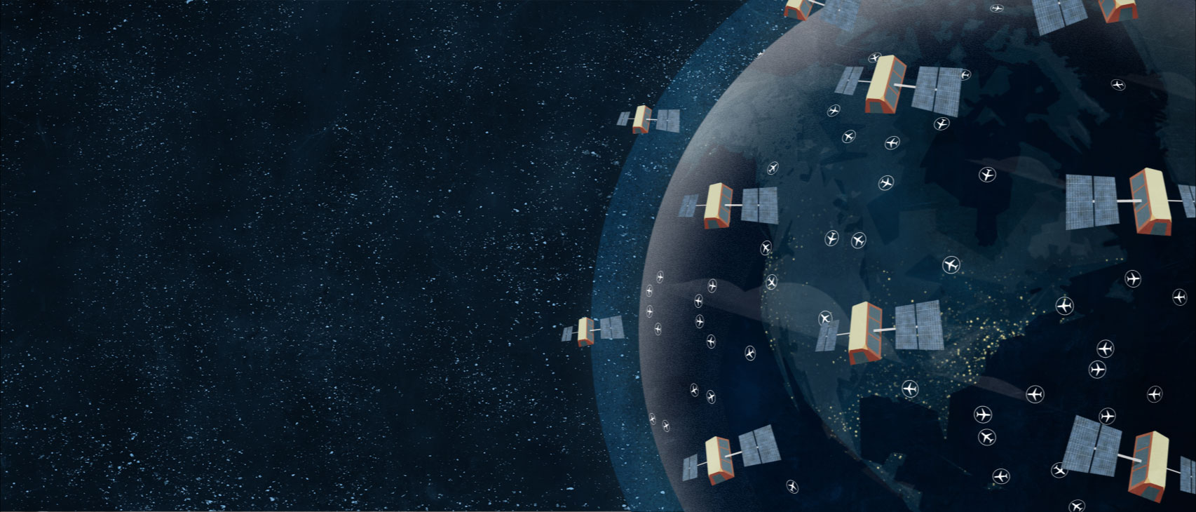 Aireon - Space-Based ADS-B Global Air Traffic Surveillance and Tracking